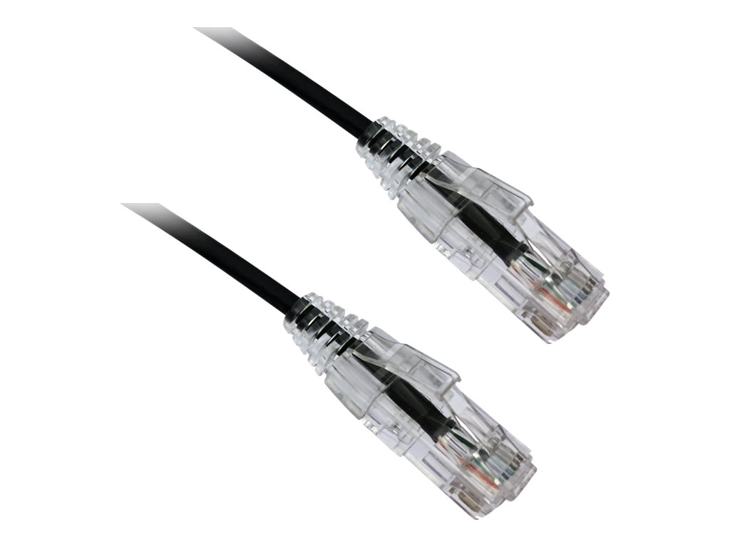 Axiom BENDnFLEX Ultra-Thin - patch cable - TAA Compliant - 3.05 m - black