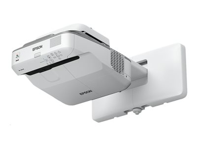 Epson EB-685Wi - 3LCD projector - 3500 lumens - WXGA (1280 x 800) - 16:10 - HD 720p - LAN ***Trade-In deal available with this product until 30th Sep 2018*** Trade in your old projector when you purchase the latest Epson interactive display between 01.01.2018 and 30.09.2018 to receive £100 cashback. Plus, trade in your interactive whiteboard at the same time to receive an additional £100 cashback. Contact us to learn more.
