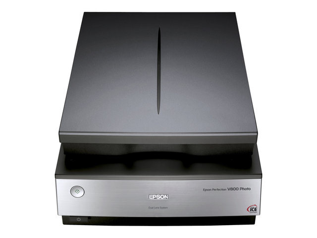 Epson Perfection V800 Photo - Scanner à plat - A4/Letter - 6400 ppp x 9600 ppp - USB 2.0