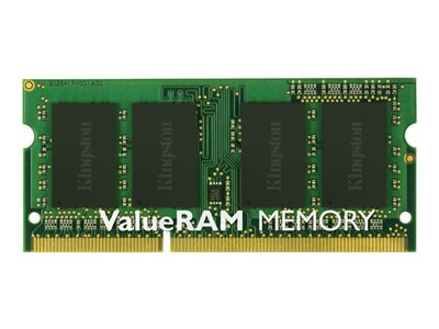 Kingston ValueRAM DDR3  1333MHz CL9  Ikke-ECC SO-DIMM  204-PIN