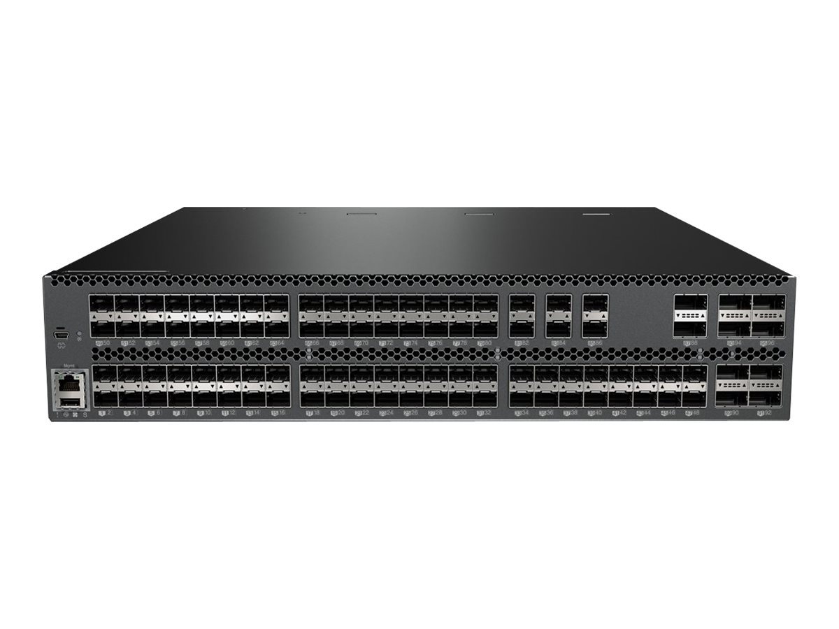Lenovo RackSwitch G8296 - switch - 86 ports - managed - rack-mountable
