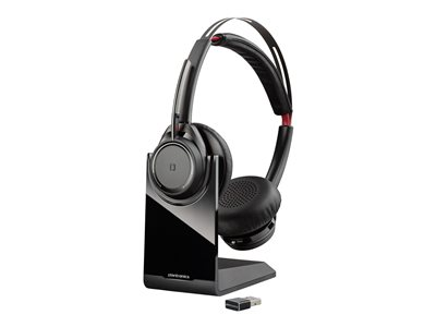 Poly Plantronics Voyager Focus UC B825-M Headset on-ear Bluetooth wireless