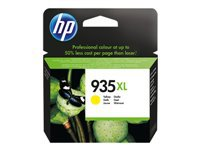 HP 935XL - High Yield - yellow - original - ink cartridge - for Officejet 6812, 6815, 6820; Officejet Pro 6230, 6230 ePrinter, 6830, 6835