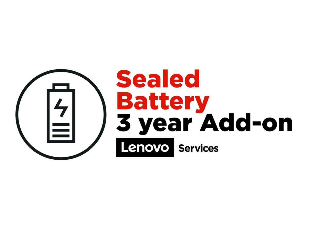 Lenovo Sealed Battery Add On - battery replacement - 3 years - School Year Term