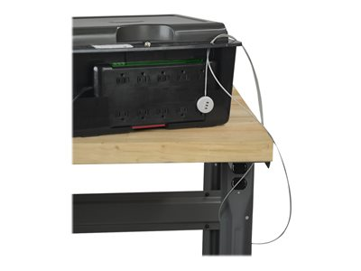Tripp Lite 10-Device Desktop AC Charging Station with Surge Protector for Tablets, Laptops and E-Readers