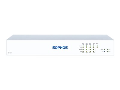 Sophos SG 125 Rev 3 security appliance with 1 year TotalProtect 24x7 GigE desktop
