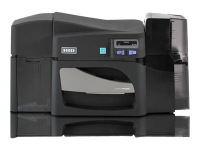 Fargo DTC 4500e Single-Sided - plastic card printer - color - dye sublimation/thermal resin