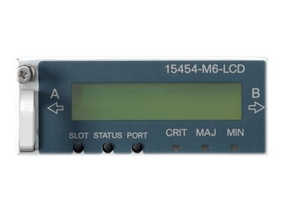 Cisco LCD Status LCD monitor integrated with backup Memory