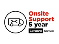 Lenovo ePac On-site Repair Extended service agreement parts and labor 5 years on-site  image