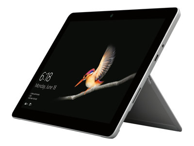 Microsoft Surface Go 10' Sølv Windows 10 Home in S mode