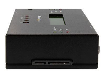 """StarTech.com 1:1 Standalone Hard Drive Duplicator and Eraser for 2.5"""" / 3.5"""" SATA and SAS Drives - Solid state / hard drive duplicator - 1 bays (SATA-600 / SAS-2)"""
