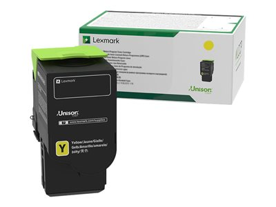 Lexmark 701XY Extra High Yield yellow original toner cartridge LCCP, LRP