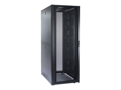 APC NetShelter SX Enclosure with Roof and Sides - Rack - black - 42U - 19