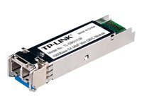 TP-LINK TL-SM311LM - SFP (mini-GBIC) transceiver module - Gigabit Ethernet - 1000Base-SX - LC multi-mode - up to 550 m - 850 nm