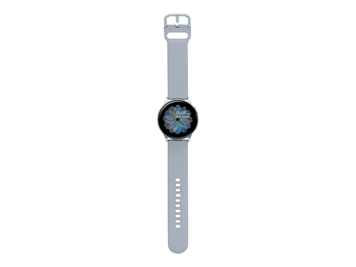 Samsung Galaxy Watch Active 2 - cloud silver aluminum - smart watch with band - 4 GB