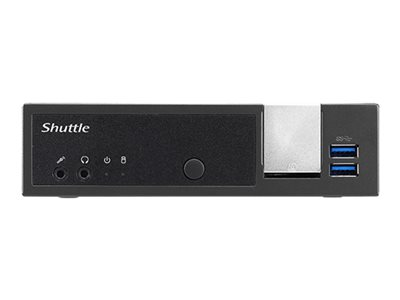 Shuttle XPC slim DX30 Barebone Slim-PC 1 x Celeron J3355 HD Graphics 500 GigE