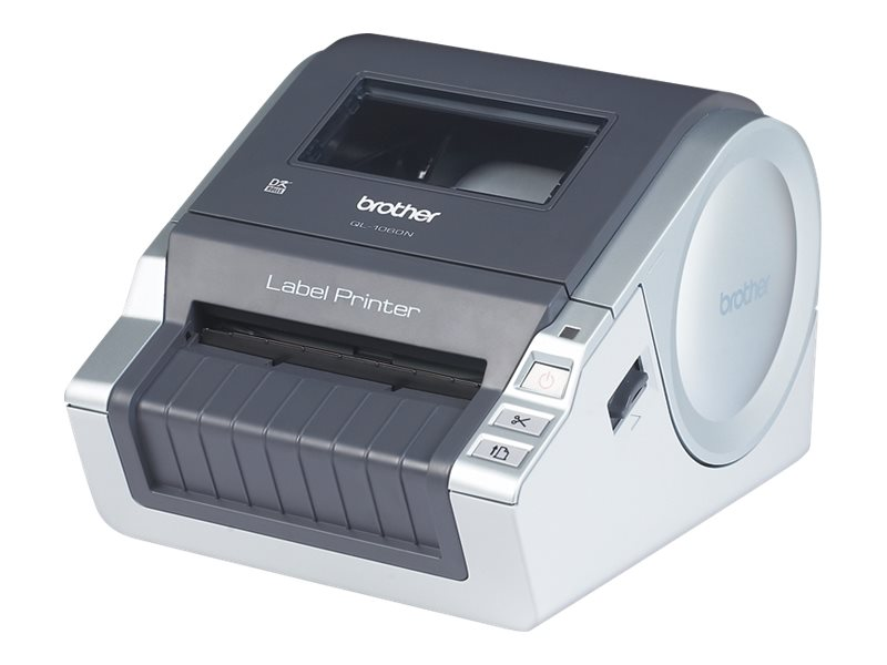 Brother QL-1060N - Etikettendrucker - Thermopapier - Rolle (10,2 cm) - 300 dpi - bis zu 110 mm/Sek.