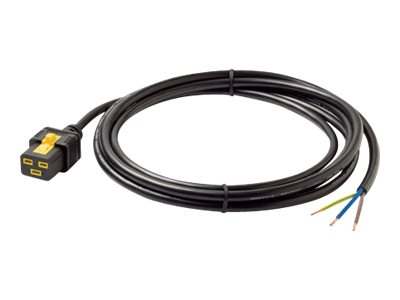 APC power cable - IEC 60320 C19 to hardwire 3-wire - 3 m