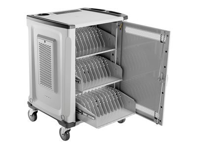 HP 32U Essential Charging Cart Cart (charge only) for 32 notebooks (open architecture)