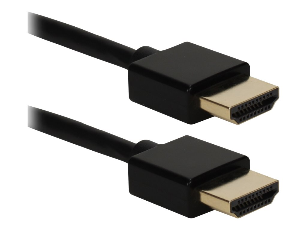 QVS High Speed - HDMI with Ethernet cable - 91.4 cm