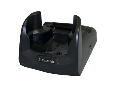 Portsmith Single Slot Ethernet Cradle - Docking Cradle (Anschlußstand) - Ethernet - EU - für Motorola MC70, MC75, MC75A