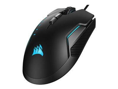 CORSAIR Gaming GLAIVE RGB PRO FPS/MOBA Mouse optical 7 buttons wired USB black