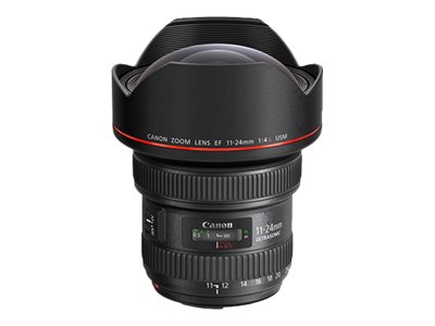 Canon EF wide-angle zoom lens - 11 mm - 24 mm