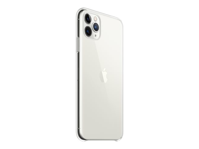 Apple - Back cover for cell phone - polycarbonate, thermoplastic polyurethane (TPU) - clear