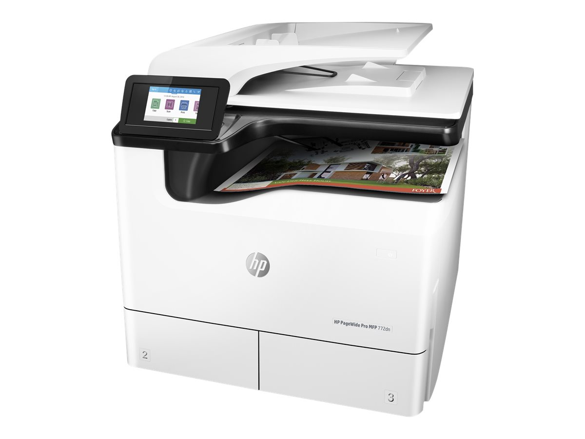 HP PageWide Pro 772dn - Multifunktionsdrucker - Farbe - Tintenstrahl - A4 (210 x 297 mm), A3 (297 x 420 mm) (Original) - A3 (Medien)