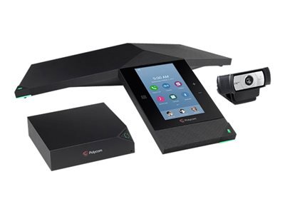 Polycom TDSourcing RealPresence Trio 8800 Collaboration Kit - video conferencing kit - with Trio Visual+, Logitech C930e