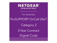 Picture of NETGEAR ProSupport OnCall 24x7 Category 2 - technical support - 3 years (PMB0332-10000S)