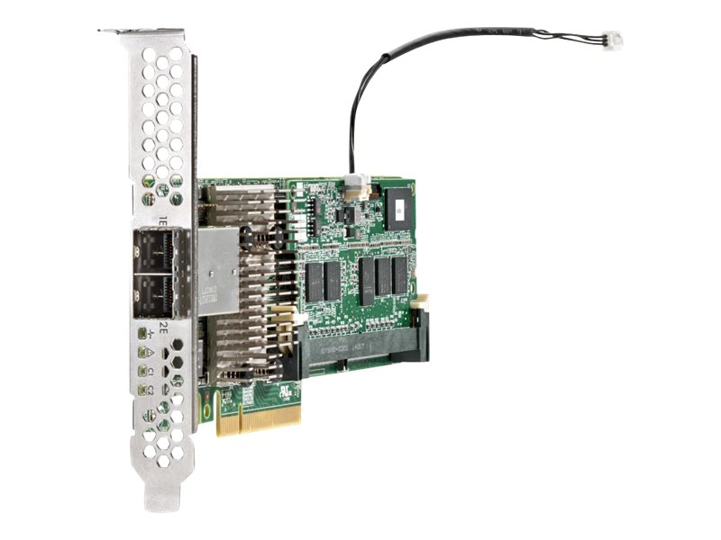 HPE Smart Array P441/4GB with FBWC - Speichercontroller (RAID) - 8 Sender/Kanal - SATA 6Gb/s / SAS 12Gb/s Low-Profile - 1.2 GBps - RAID 0, 1, 5, 6, 10, 50, 60, 1 ADM, 10 ADM
