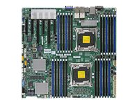 SUPERMICRO X10DRC-T4+ - motherboard - enhanced extended ATX - LGA2011-v3 Socket - C612