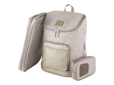 Francine Collections Tribeca Notebook carrying backpack 16.1INCH taupe