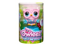 Owleez Flying Baby Owl pink