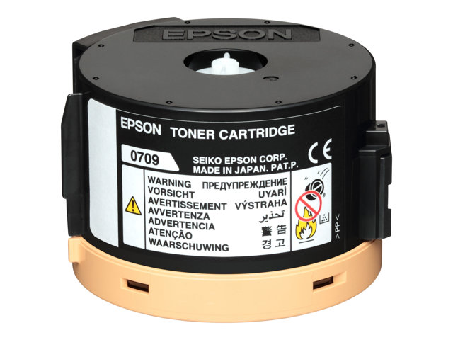 Image of Epson 0709 - black - original - toner cartridge