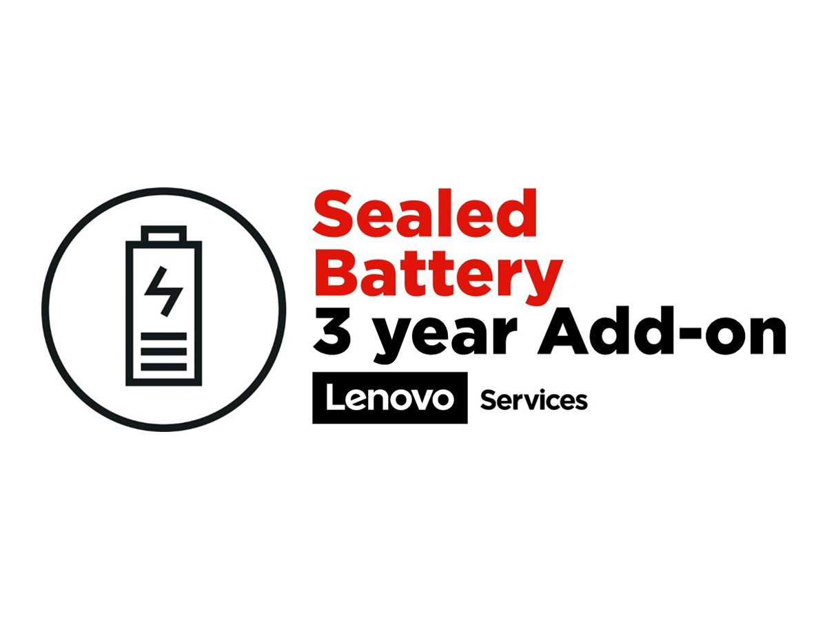 Lenovo Sealed Battery - battery replacement - 3 years