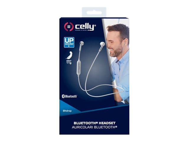 Celly BhDrop - auriculares internos con micro
