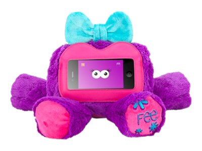 Griffin Woogie Fee Protective cover for cell phone / player purple for App