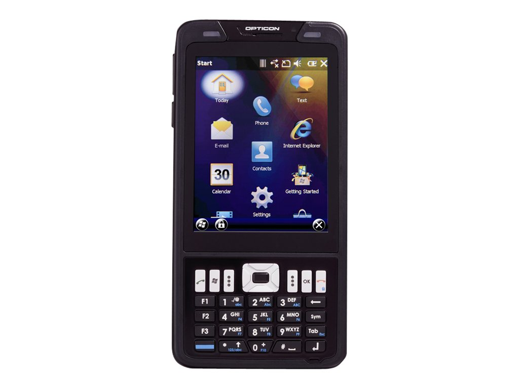 """Opticon H22 - Datenerfassungsterminal - robust - Windows Mobile 6.5.3 Professional - 512 MB - 9.4 cm (3.7"""") Farbe TFT (480 x 640)"""