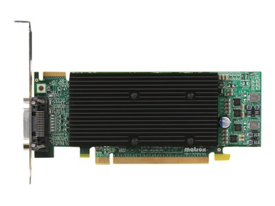Matrox M9120 Plus Graphics card 512 MB DDR2 PCIe x16 low profile