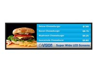 GVision Super-Wide LCD S38AE 38INCH Class (38INCH viewable) LED display commercial use 1920 x 540