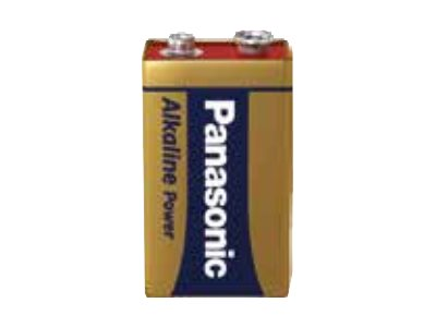 Panasonic Alkaline Power 6LR61APB/1BP - Batterie 9V Alkalisch