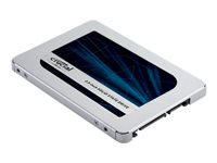 "Crucial MX500 - Solid state drive - encrypted - 1 TB - internal - 2.5"" - SATA 6Gb/s - 256-bit AES - TCG Opal Encryption 2.0"