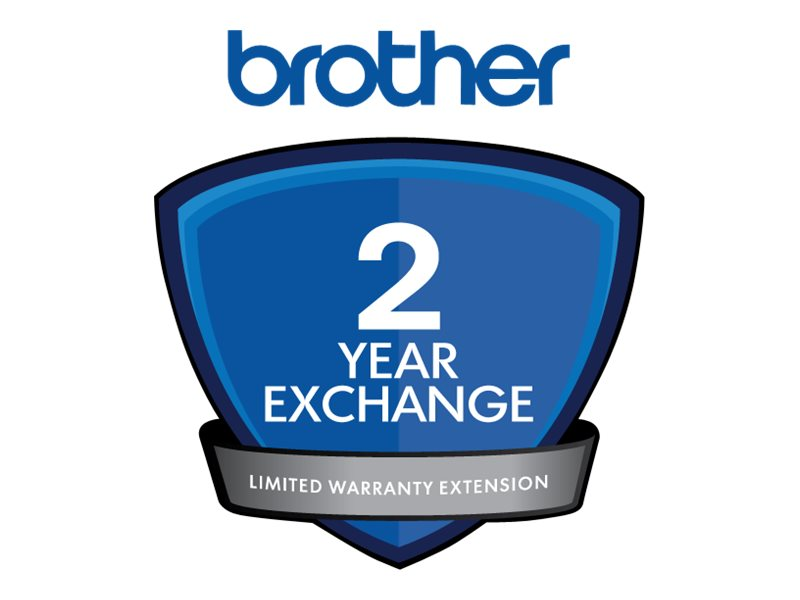 Brother Express Exchange Limited Warranty Extension - 2 years - shipment