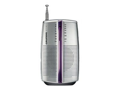 Grundig CITY BOY 31 Privat radio Sølv