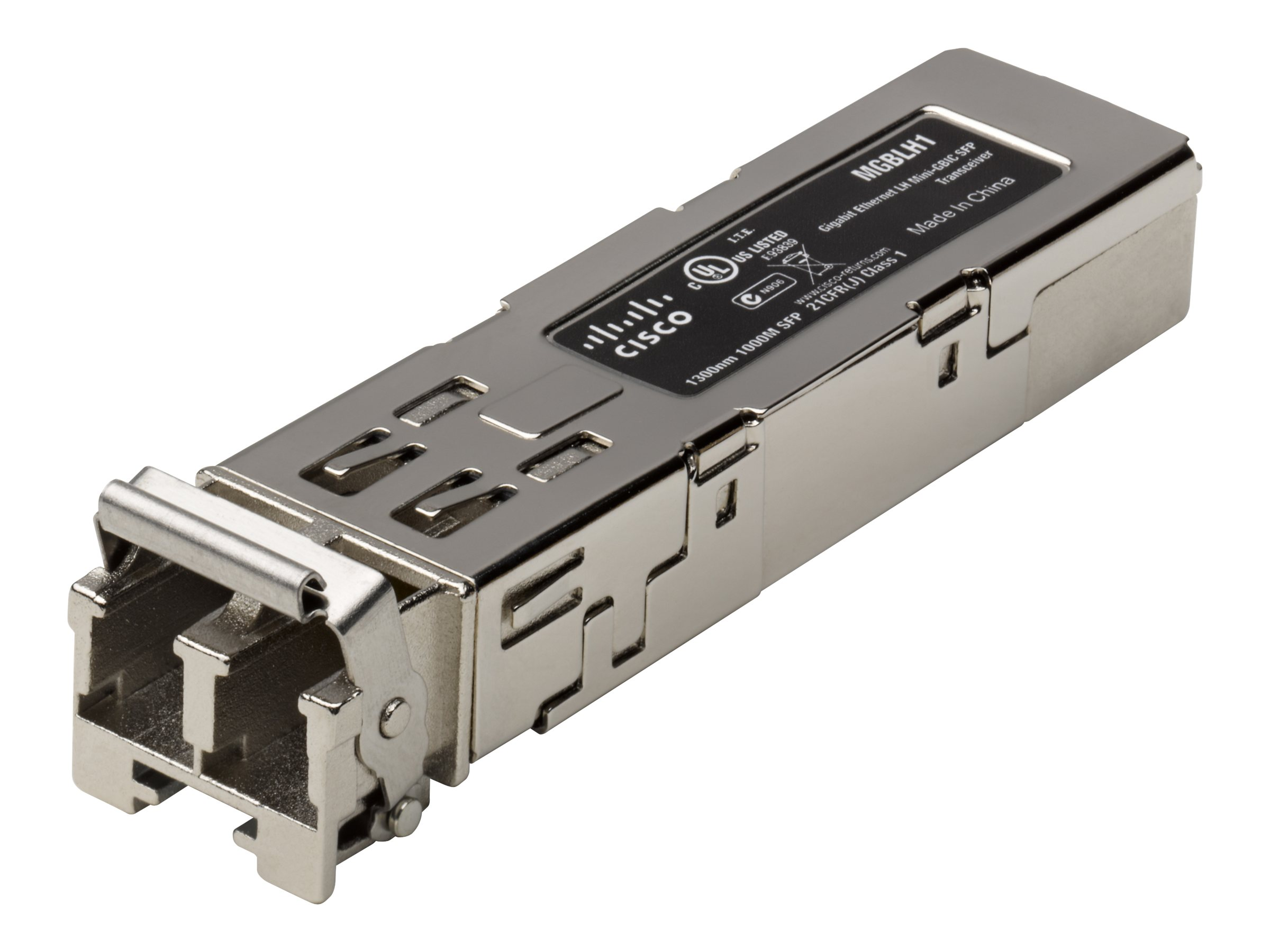 Cisco Small Business MGBLH1 - SFP (Mini-GBIC)-Transceiver-Modul - GigE - 1000Base-LH - LC - bis zu 40 km