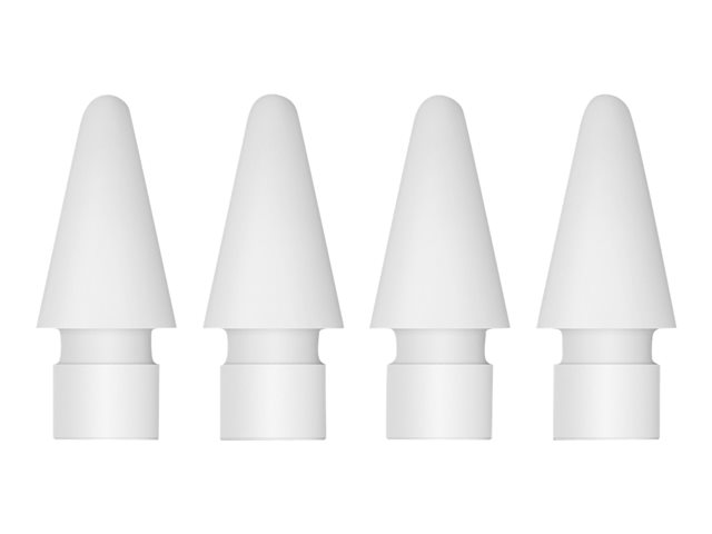 Apple - Replacement tip for stylus (pack of 4) - for Pencil