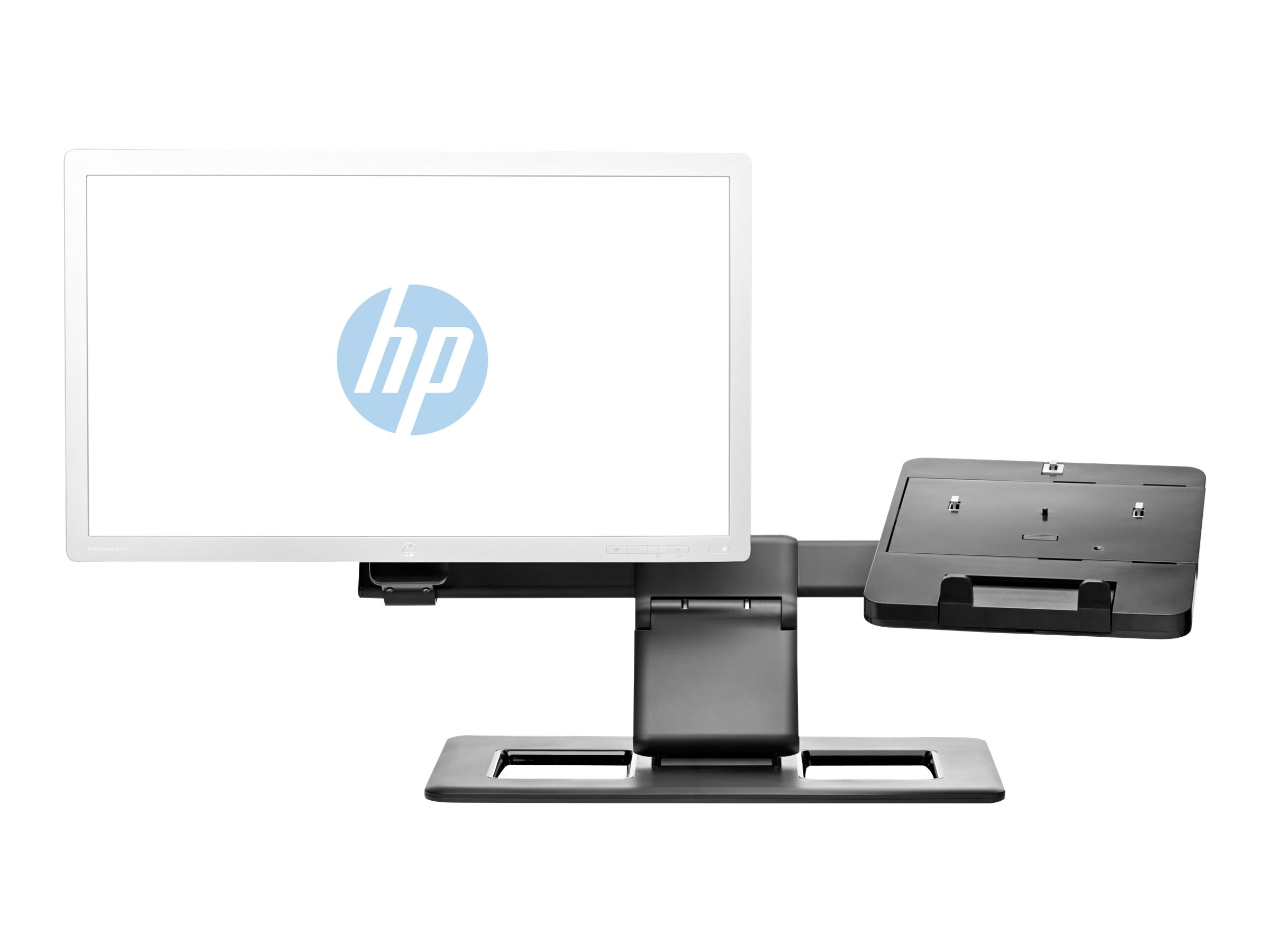 HP Display and Notebook II Stand - Notebook- / LCD-Monitorständer - 43.9 cm (17.3