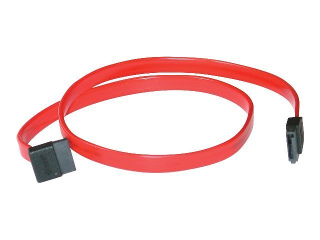 C2G 7-pin 180° to 90° 1-Device Serial ATA Cable - SATA cable - 15 cm